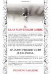 31. GLAS SLOVENSKIH GORIC