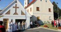 Na lokaciji propadajočih hlevov uredili Dom sv. Ane