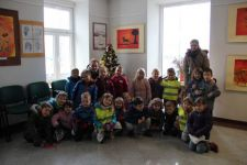 Otroci vrtca Sv. Ana so nas obiskali