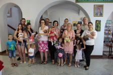 Sprejem novorojencev pri županu Silvu Slačku