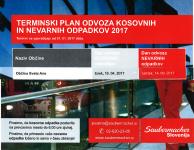 ODVOS KOSOVNIH ODPADKOV - 18.4.2017